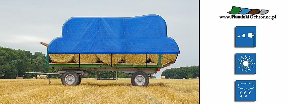 Zabezpieczenie w transporcie produktów rolnych.